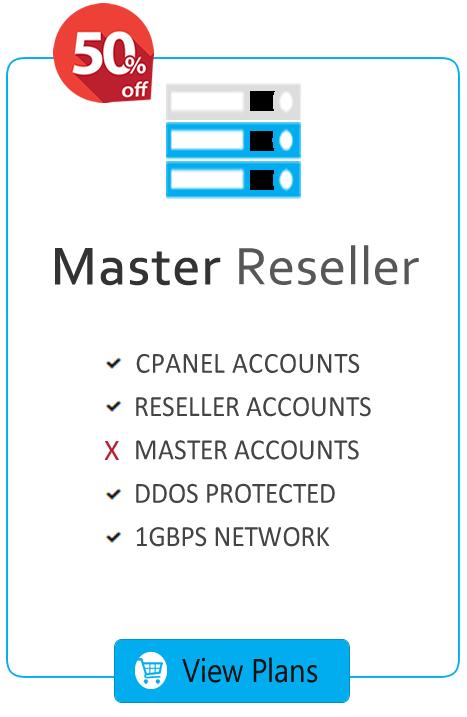 Master Reseller Hosting Plans